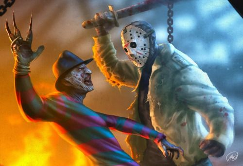 Freddy vs Jason - Ed Anderson