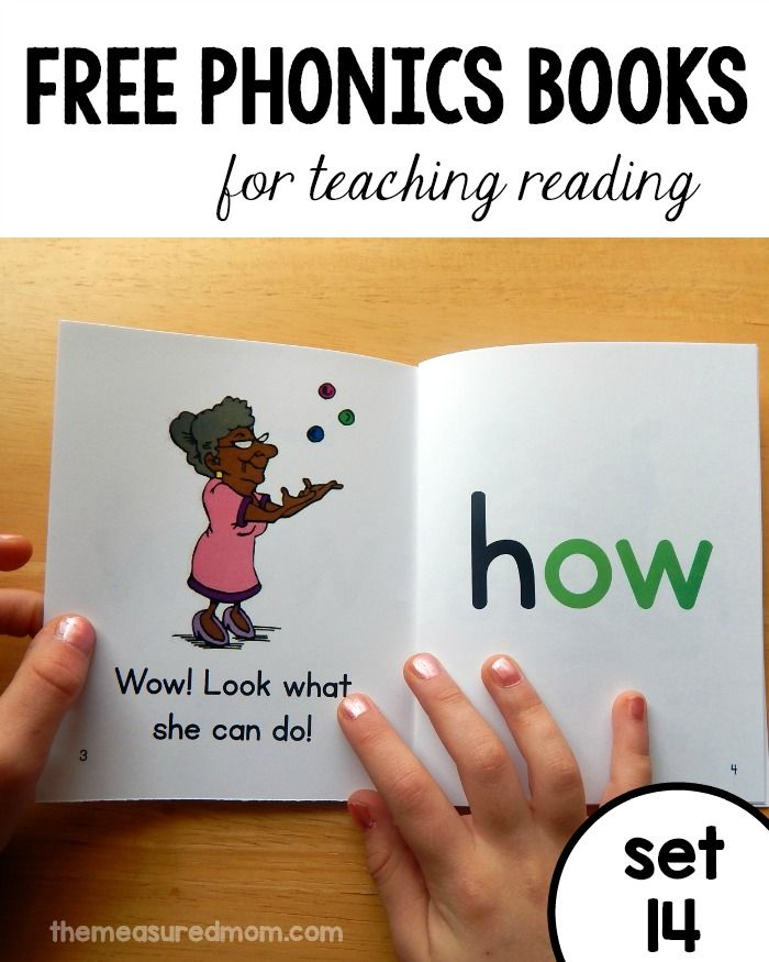 Teach ow words, oi and oy words, and many more phonics patterns with these free printable phonics books!
