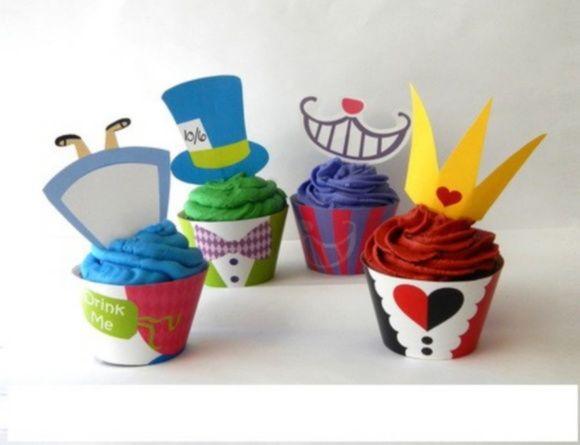 Wrapper para Cupcakes em Papel fotográfico, Não Há Possibilidade de mudanças de corês são entregues aberto , fechar de acordo com o tamanho do cupcakes valor unitario