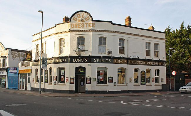 The Bold Forester, Albert Road, Southsea was built in the early 1870s and has a large patio garden.