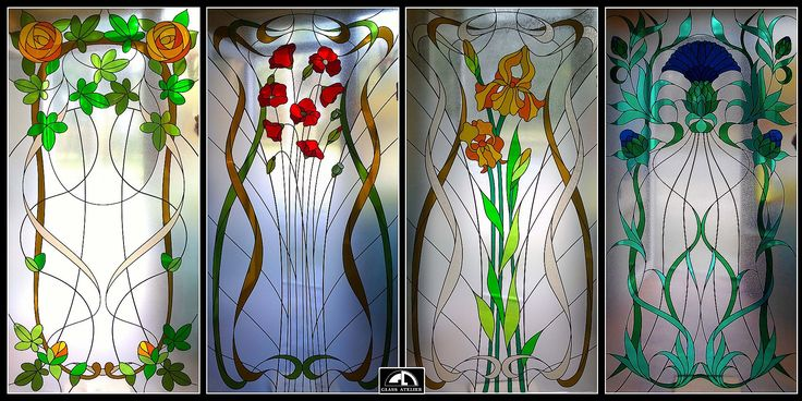 #glassatelier , #stainedglass , #overlay , #secesja