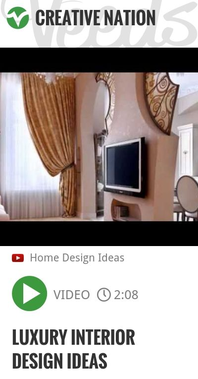 Luxury Interior Design Ideas | http://veeds.com/i/h3pWiC4cZ7XhcDA7/creativenation/