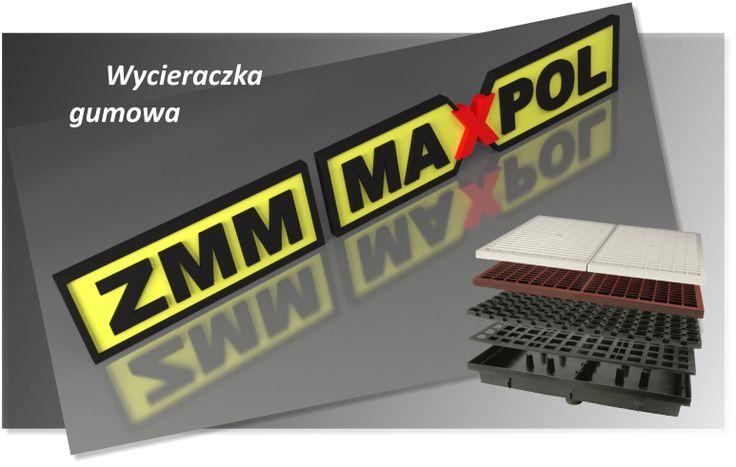 Dzięki Wycieraczce ZMM MAXPOL odprowadzisz wodę sprzed drzwi wejściowych