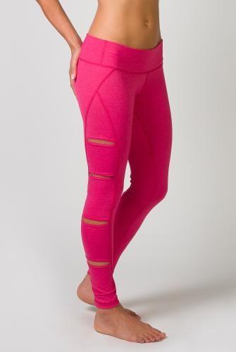 Tonic Clothing Peak Cutout Legging in Carnation Mist