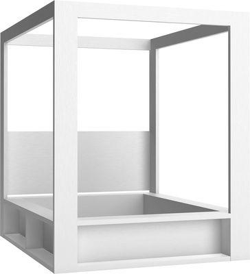 Łóżko z baldachimem (Biały) - Łóżka i kanapy - Typy mebli - Meble VOX