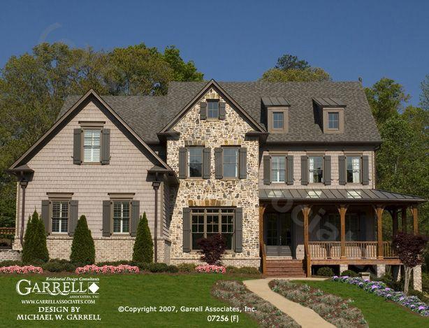 Garrell Associates, Inc.Oxford F House Plan # 07256 ...