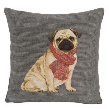 Véritable coussin de décoration intérieurereprésentant un adorable Brabançon,entièrement rembourré et avec une attention toute particulière à la finition. Un coussin de tapisserie qui ravivera votre intérieur sur un canapé ou un fauteuil.