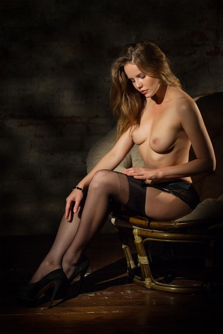 Beautiful model in the dark room by Василий Ковалев on 500px