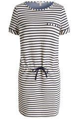 Esprit Casual - jurk met gestreept dessin #maritiem #strepen #trend #SS16