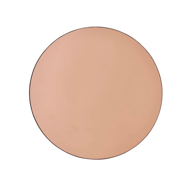 Rose Gold Tinted Round Mirror | Ross & Brown online designer home store