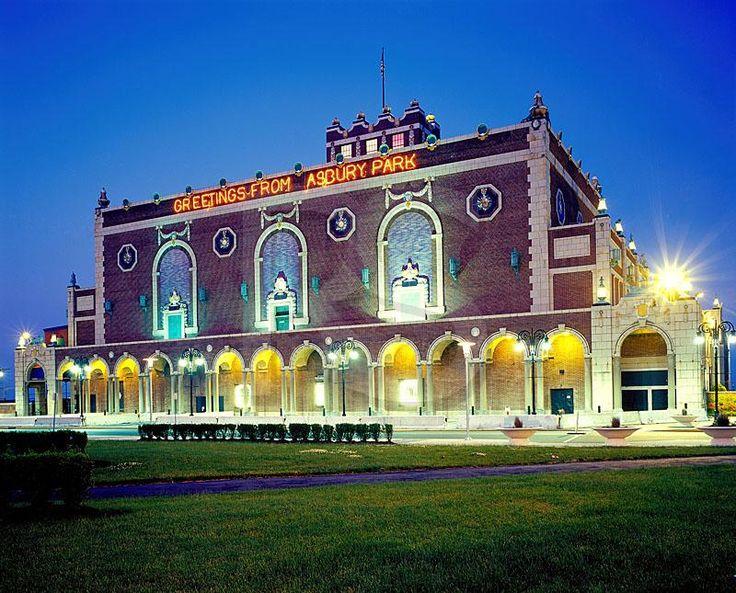 Paramount theatre asbury park boardwalk belmar