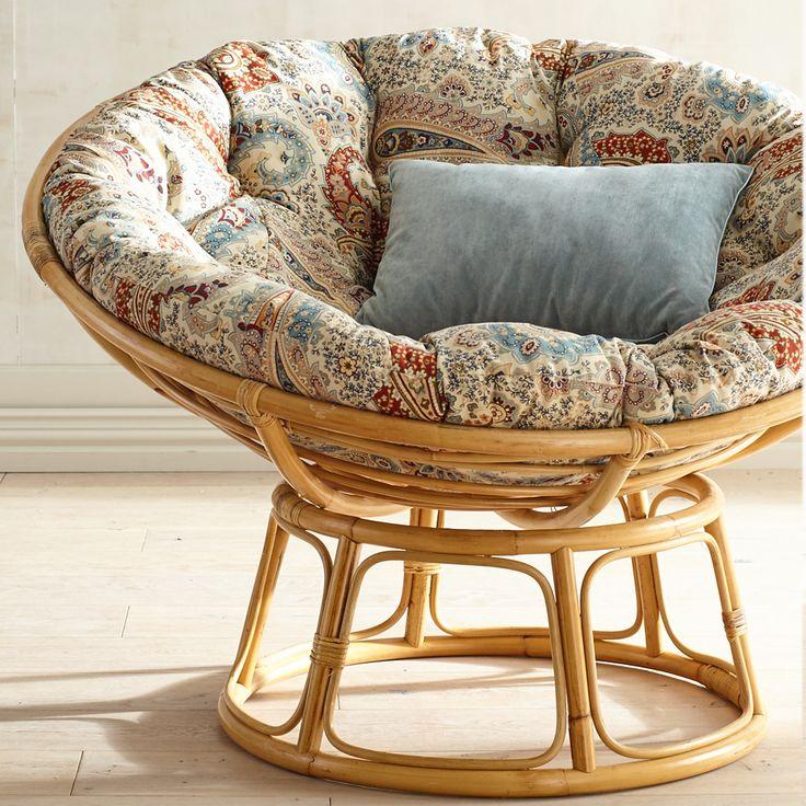 Papasan Chair Frame - Natural - Lacquer