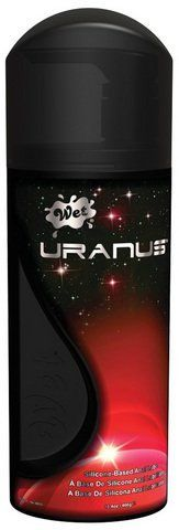 Wet Lubes Wet Uranus Anal Silicone Lube,16.4 Ounce by Wet Lubes. Save 30 Off!. $59.10. Hypoallergenic. Non Staining. Never Sticky. Wet Uranus Anal Lubricant is thicker silicone based lube. Hypoallergenic for sensitive skin types. Non-staining to sheets, lingerie and most types of materials. Guaranteed never sticky. These formulas are recommended for those who are looking to boldly go to the unexplored!