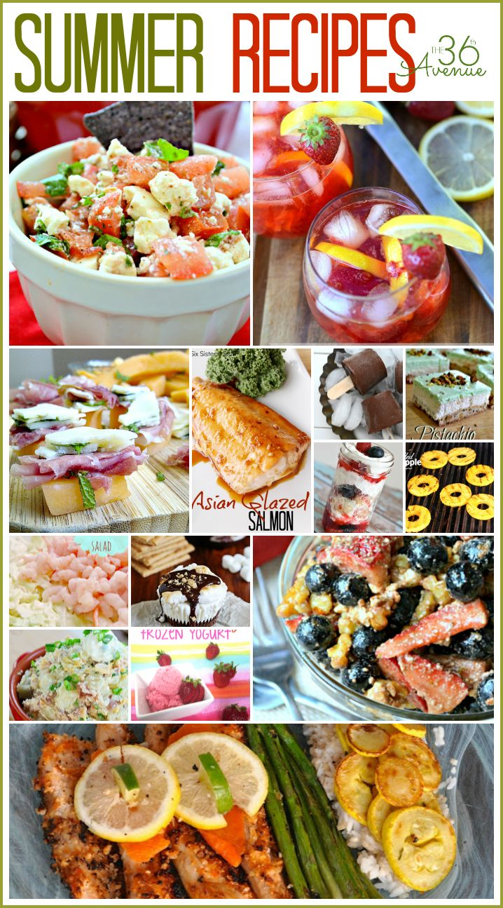 Easy Recipes... perfect for Summer! the36thavenue.com