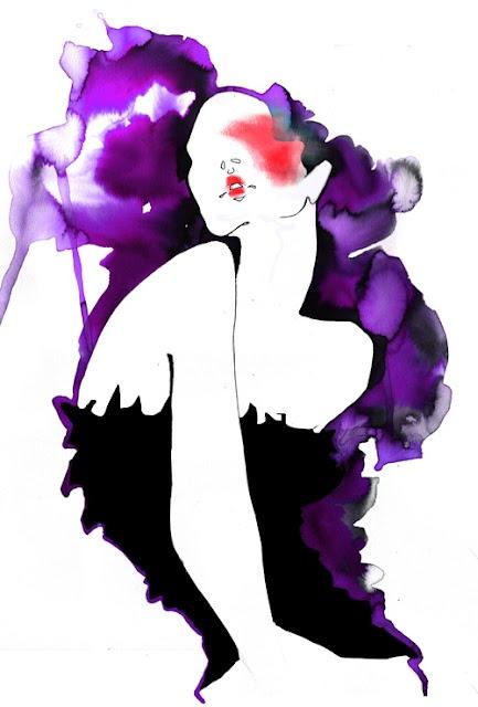 Amelie Hegardt #illustration #fashion illustration#trafficnyc