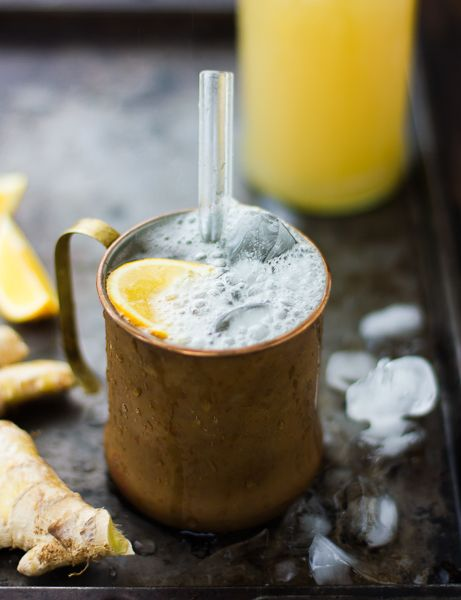 Nim Nam: ginger-vodka cordial with vanilla, lemon, and honey | The Bojon Gourmet
