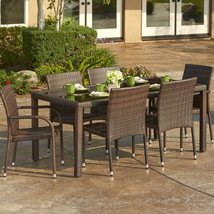 575 best wicker patio furniture images on pinterest
