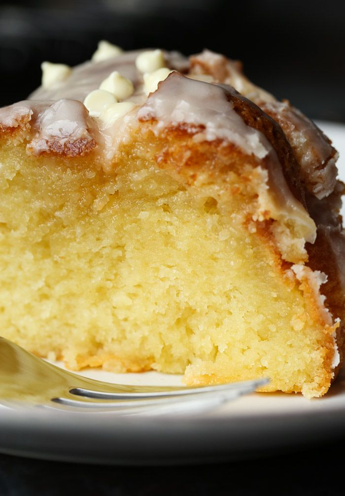 This is the most Ridiculous Vanilla Cake… seriously the softest most moist cake EVER, it literally melts in your mouth!