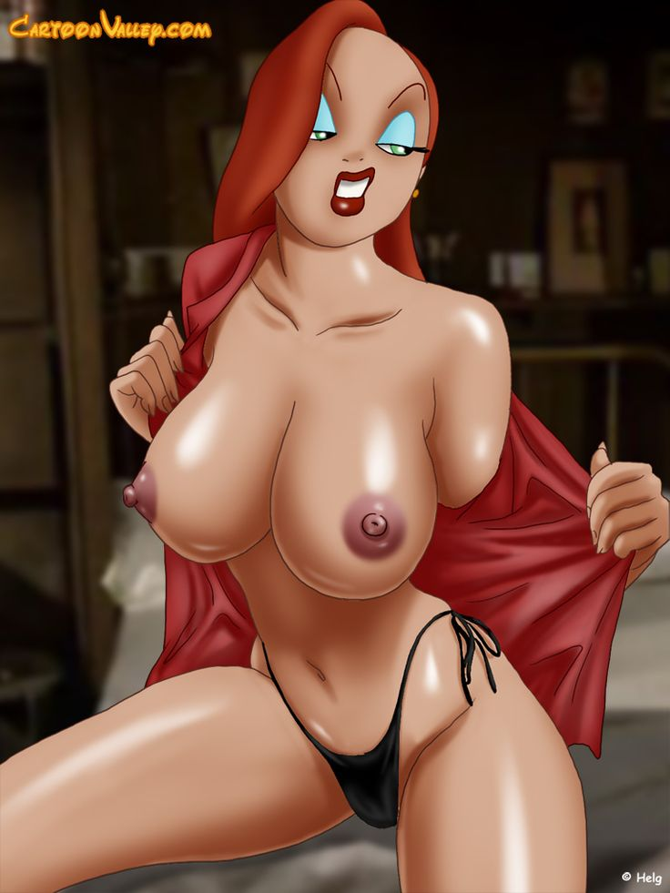 porn Sexy cartoon jessica rabbit