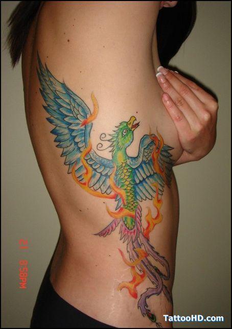 phoenix rising tattoo - Google Search
