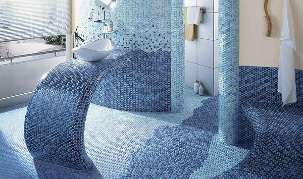 Moderne Badezimmer - Wunderbar Design - Linien