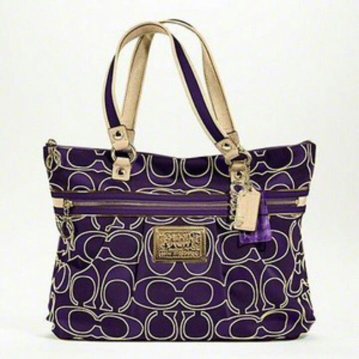 Coach Väskor Stockholm : Omg this is gorgeous all things purple