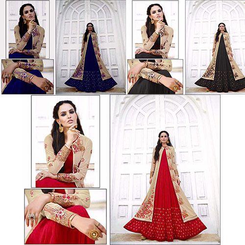 d5ee21e3cb2f775a6a6b3aa01408b4c1 - Indian Pakistani Anarkali Salwar Kameez Designer Suit Bollywood Dress K GLS #Fas...