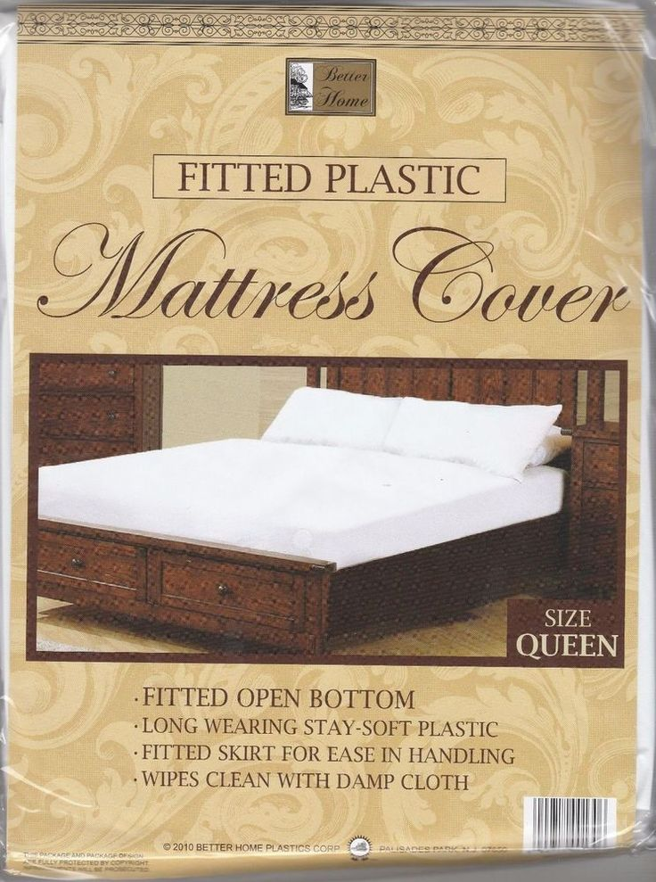 Waterproof Mattress Cover Protector Queen Size Fitted Bed