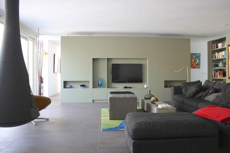 Vrijstaand tv meubel op maat tv wand pinterest industrial design and industrial - Meubel lijn roset ...