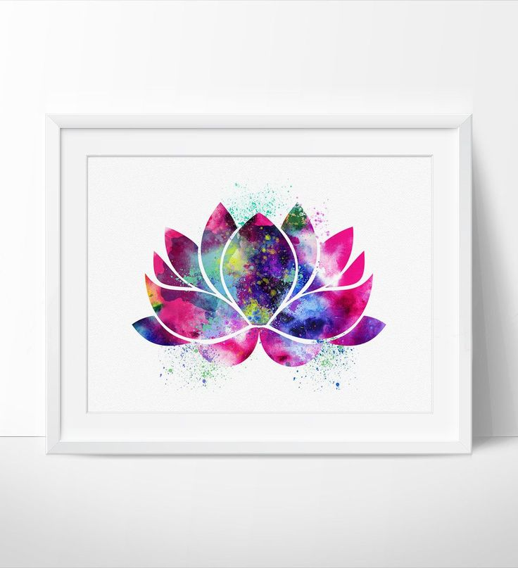 Lotus Flower Wall Art best 25+ lotus flower art ideas only on pinterest | lotus flower