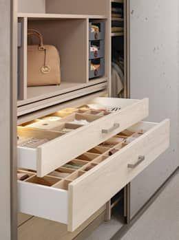 chambre de style de style moderne par cabinet schranksysteme