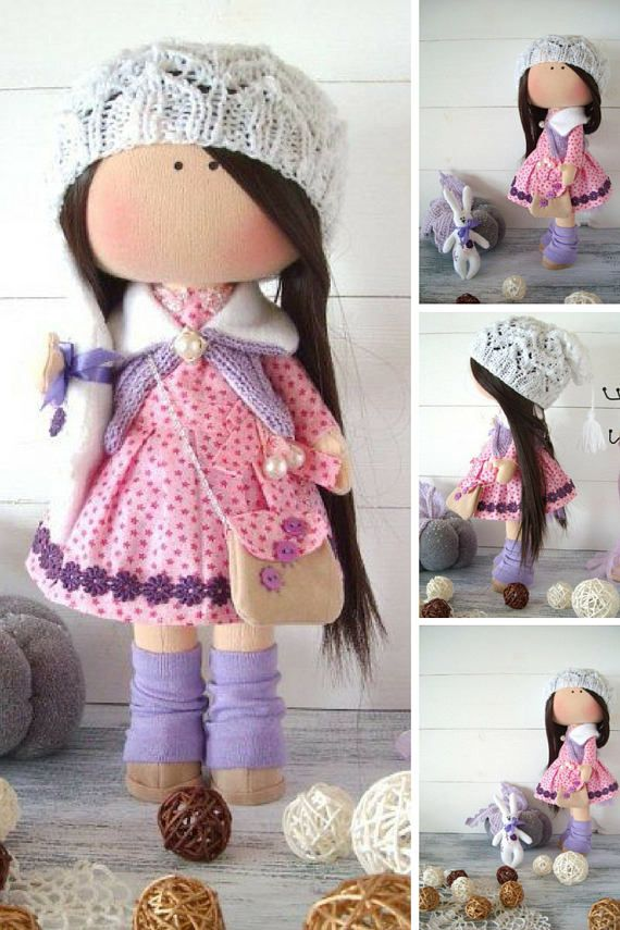 Muñecas Bambola Fabric doll Cloth doll Kukull Textile doll