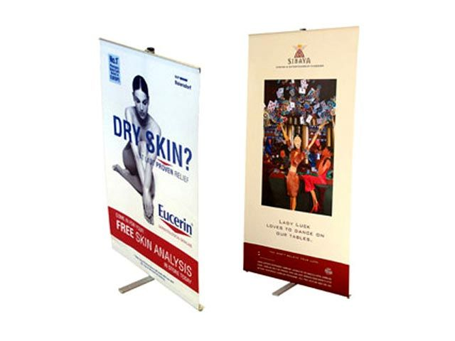 X-Stand at Banners | Ignition Marketing Corporate Gifts