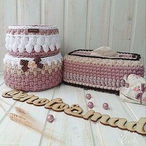 Нюдовая красота от енотика продолжается Вкусный комплект корзиночек и корзиночка для салфеток,отличная идея и интереснейший заказ Продолжаю влюбляться в такие оттенки Что думаете? Как вам шоколадные акценты? Для заказа-директ или вотс апп ~ #вязанаякорзинка #корзинкиназаказ #отличныйподарок #вязканазаказ #трикотажнаяпряжа #дора#макарунс#длямамы#длядочки#длямалыша#декордлядома#интерьерныекорзинки#интерьер#красотавдом #сделанослюбовью #ручнаяработа #зефирки#енот#енотик #enotos_made