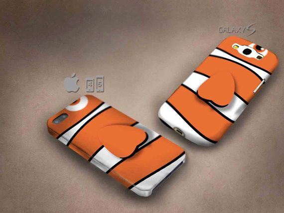 Nemo Texture 3D case, full image, for iphone 4/5/5c & Galaxy S3/S4