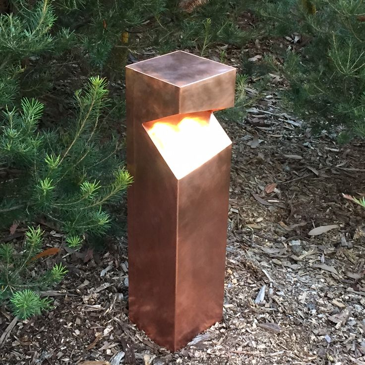 Custom LED Copper Bollard