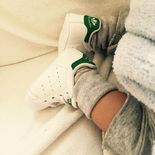 Not just for adults. The adidas Stan Smith is perfect for the little 'uns too. |@michaelaelise99