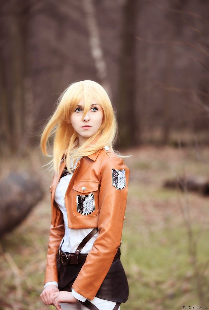 From Google; cosplay snk