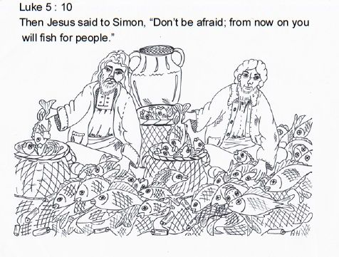 Jesus Calls His First Disciples Sunday School Lesson Craft And Coloring Pictures