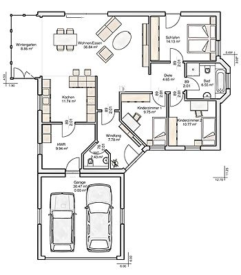 68 Flat Roof further Simple Three Bedroom House Plan 80627pm in addition 139344 Narrow Lot Duplex also Question What Type Of House Provides Best Chi Flow further News 45 Dumosa 90 M2. on house garage plans