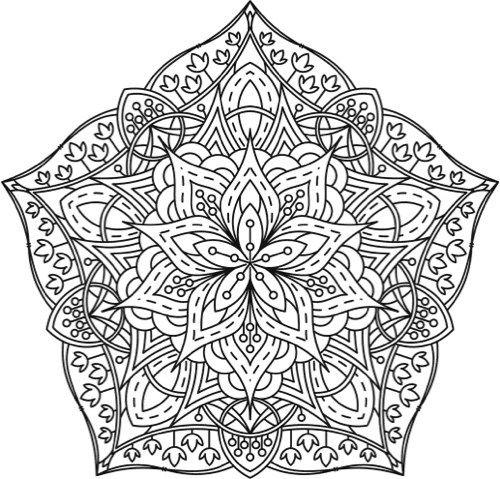 339 besten coloriage mandala Bilder auf Pinterest | Mandala ausmalen ...