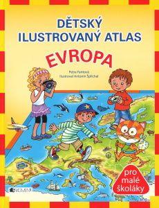 Dětský ilustrovaný atlas Evropa