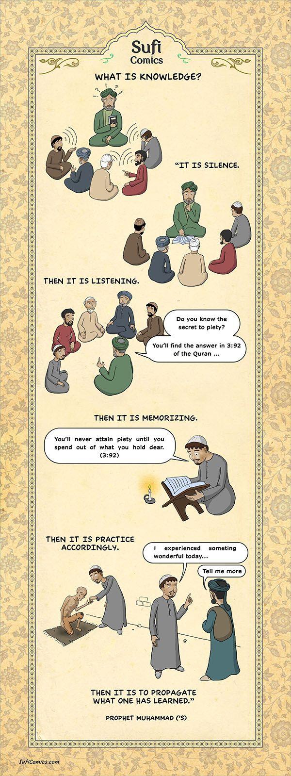 Sufi Comics - Comics for the Soul - Spiritual Islamic Comics