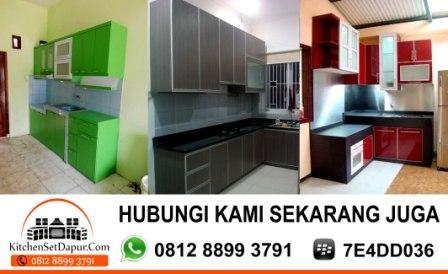 TUKANG KITCHEN SET BINTARO 0812 8899 3791 BB 7E4DD036: Kitchen Set Minimalis Bintaro