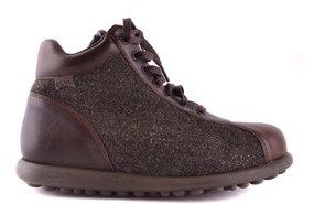 Camper Men's Mcbi059 Brown Fabric Ankle Boots.