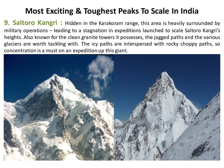 Hidden in the #Karakoram range, this area is heavily surrounded by military operations – leading to a stagnation in expeditions launched to scale #SaltoroKangri's heights. Also known for the clean granite towers it possesses,  #365Hops, #Peaks, #India #Trelling #Treks