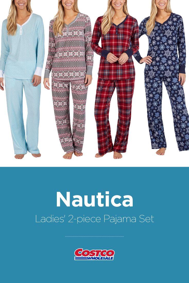 88a5fecba68 Nautica Ladies  2-piece Pajama Set