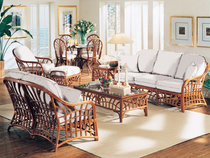 South Sea Rattan New Kauai Indoor Living Room Set In 2019