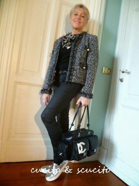 """cucito & scucito: La """"mia"""" giacca Chanel -5-"""