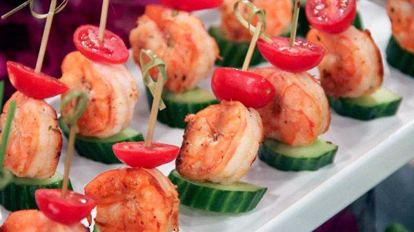Mediterranean Marinated Grilled Jumbo Shrimp